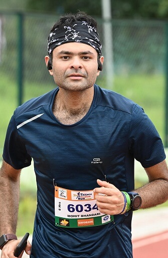 Dr. Mohit Bhandari is a fitness enthusiast